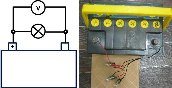 Как можно разрядить автомобильный аккумулятор