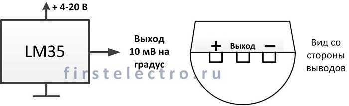 Простой цифровой термометр своими руками с датчиком на lm35 39